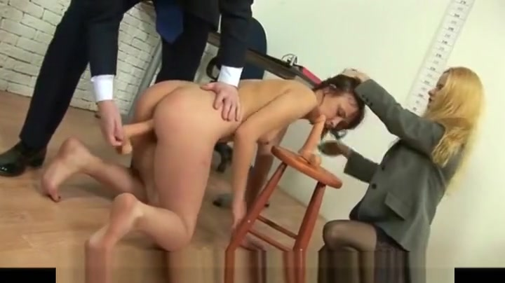 Really dirty job interview Amauter young lesbian porn