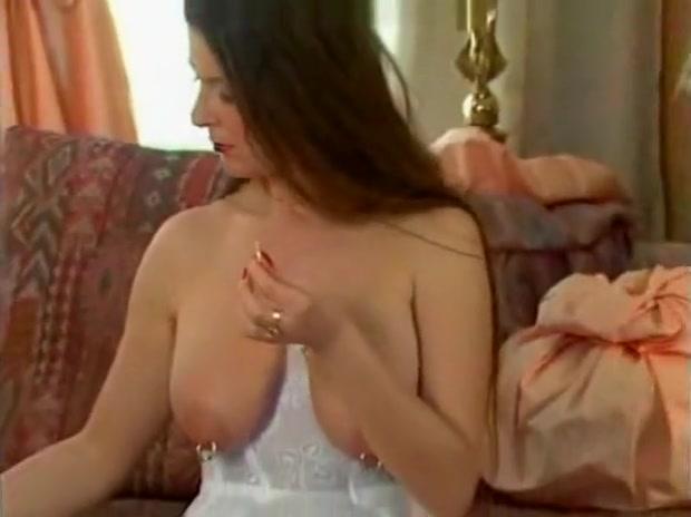 German Babe  Plays With Her Large Pierced Nipples 2 bdsm bondage slave femdom domination