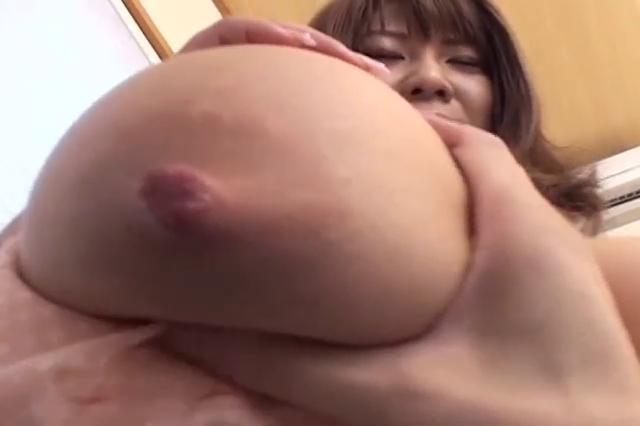 Breasty Japanese Tugjob