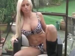 Blonde JOI Teen getting undressed xxx gifs