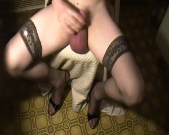 monster balls in stockings, pumped cock balls masturbation Bikini mature large