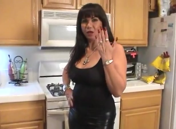Latina Mature is talking about her sexy long red nails Regular flex adult baseball bat
