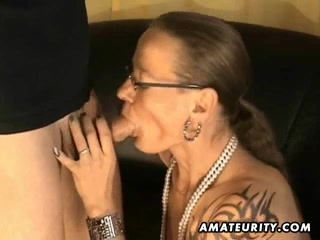Non-Professional cook jerking footjob and oral job with facial ejaculation Bang brothers milf