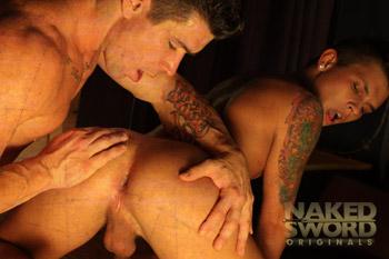 Grindhouse Episode 1 - NakedSword Originals Shemale stroker vanity bucci