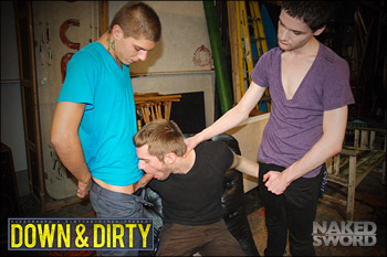 Down & Dirty: Put Your Fat Cock In Here! - Nakedsword, Dirty Boy Video Big soft hairy cock