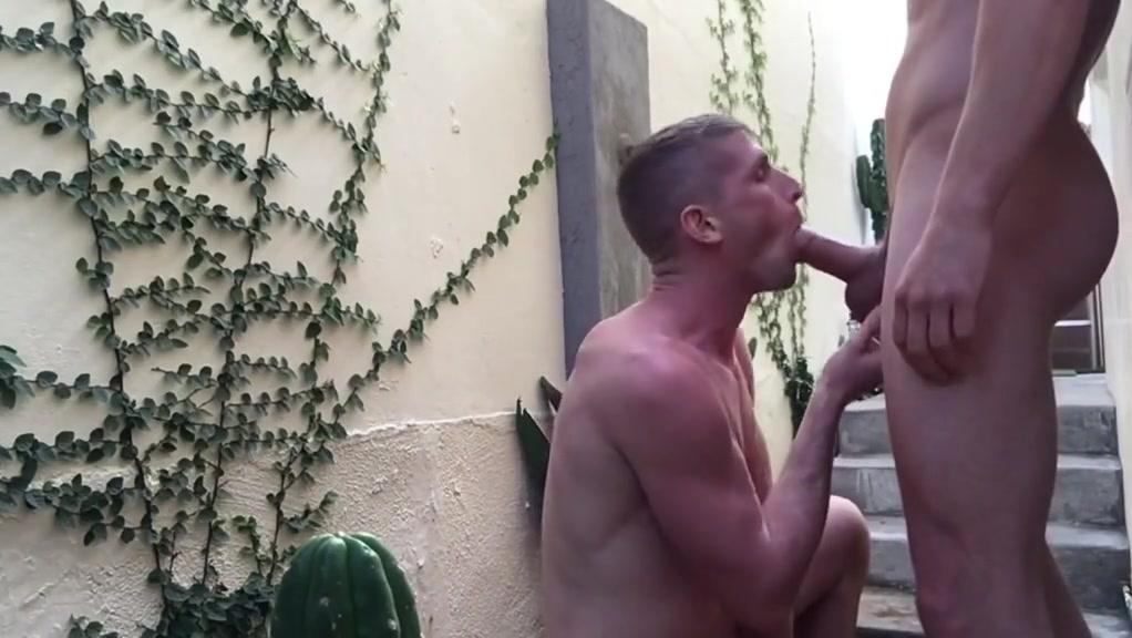 BigCMen Courtyard Fuck With Jack Hunter Blonde latinas huge tits
