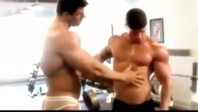 Zeb Atlas & Mark Dalton Bromance (Muscle worship, JO & Cum) men boob sucking