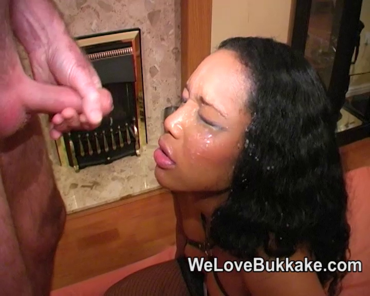 Darksome lady with white dongs takes facual cumshots DESIXB.COM