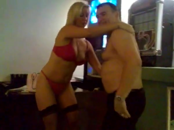 worst stripper-gram ever seen Tits round gif