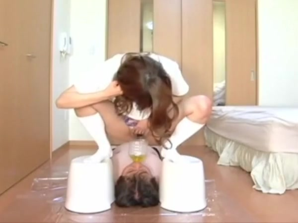 Asian fendom piss drinking
