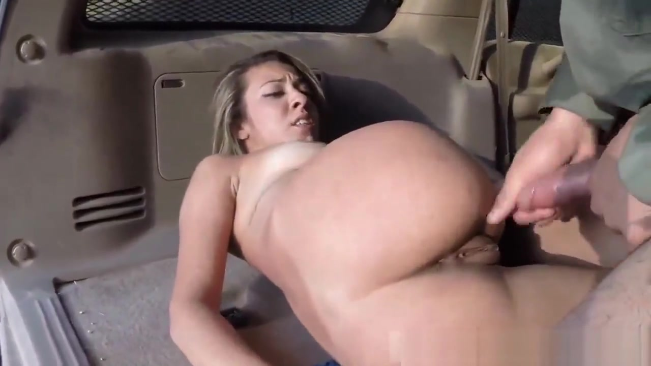 Cop Blonde Big Tits Anal Xxx Strip Search Leads To Hot Sex