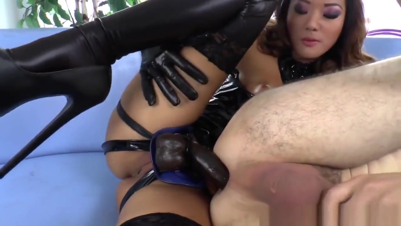 Asian Dominatrix Fucked By Sub After Pegging