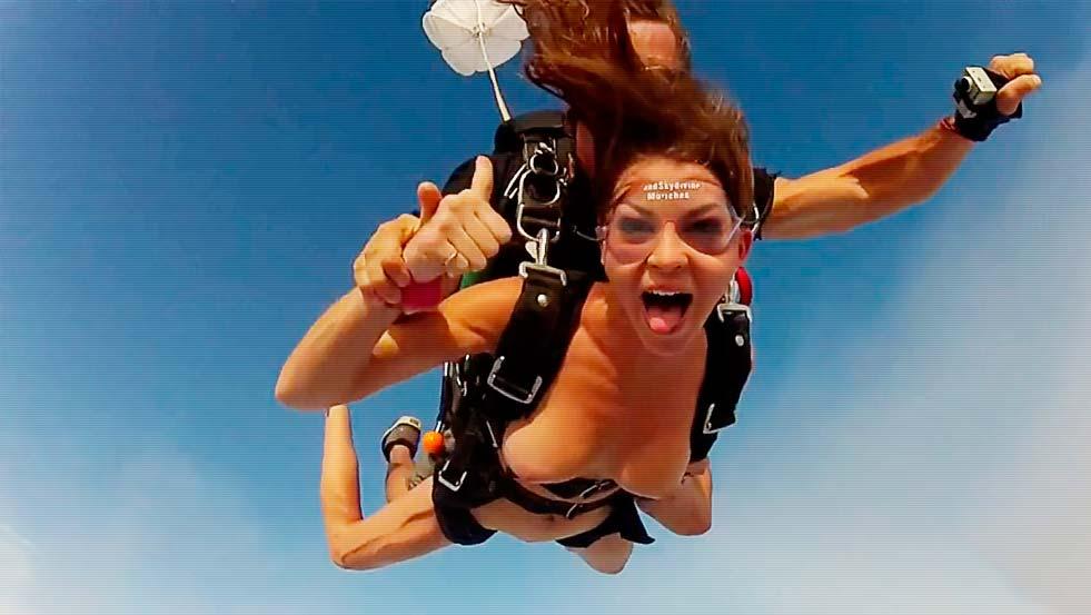BADASS, Members Exclusive: Skydiving Creampid Pussy