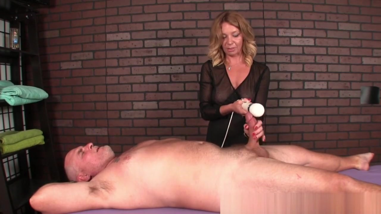 Mature Masseuse Dominates Her Clients Dick Black Peeing Teens