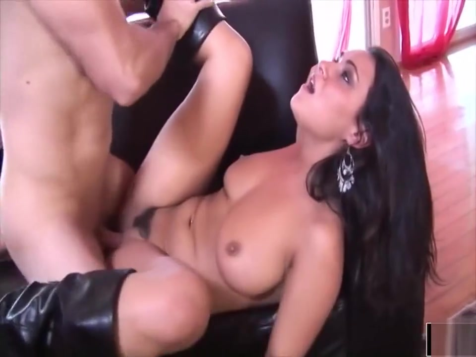 Amazing Babe In Boots Gets Drilled Big butt porn wet
