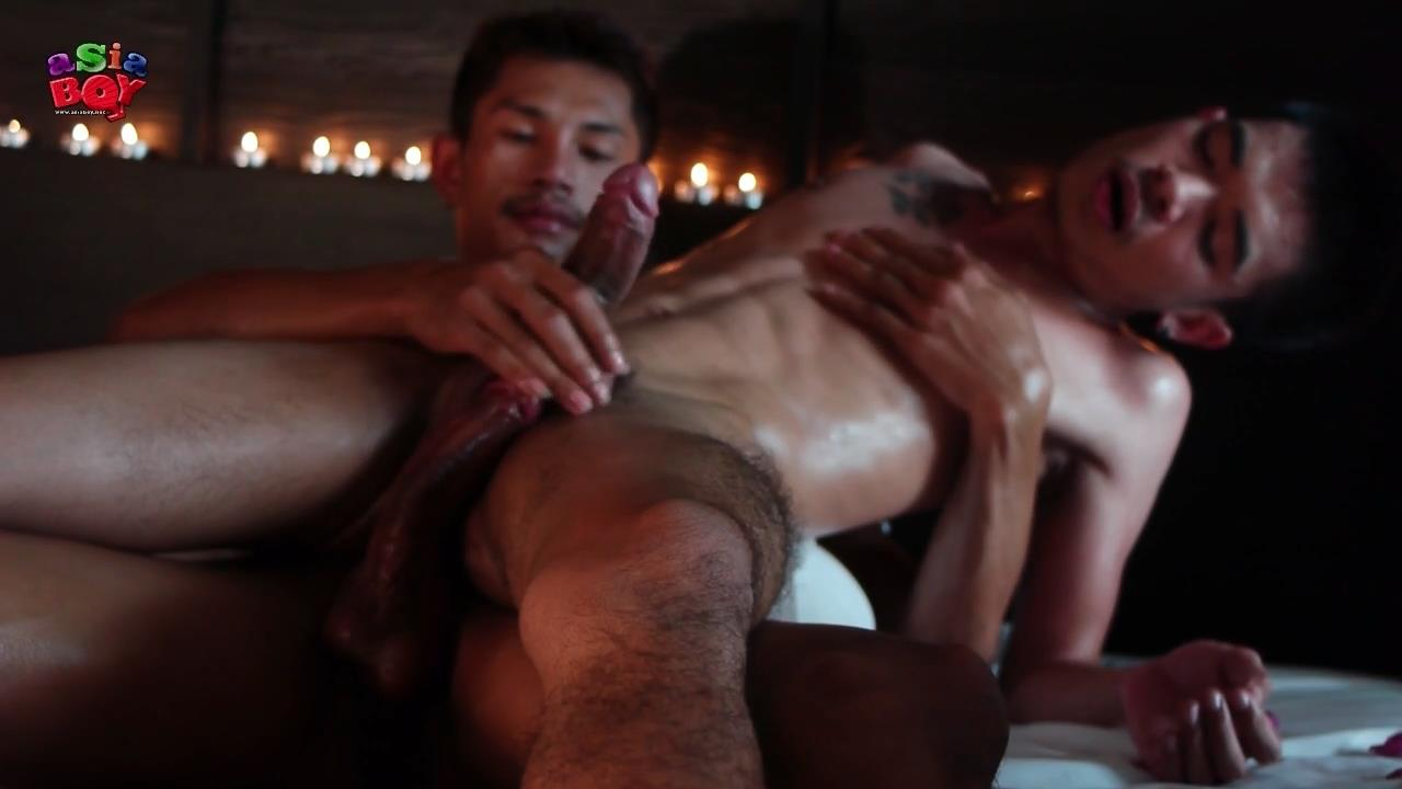 Mutual Masturbation - AsiaBoy Black dragon with a girl naked