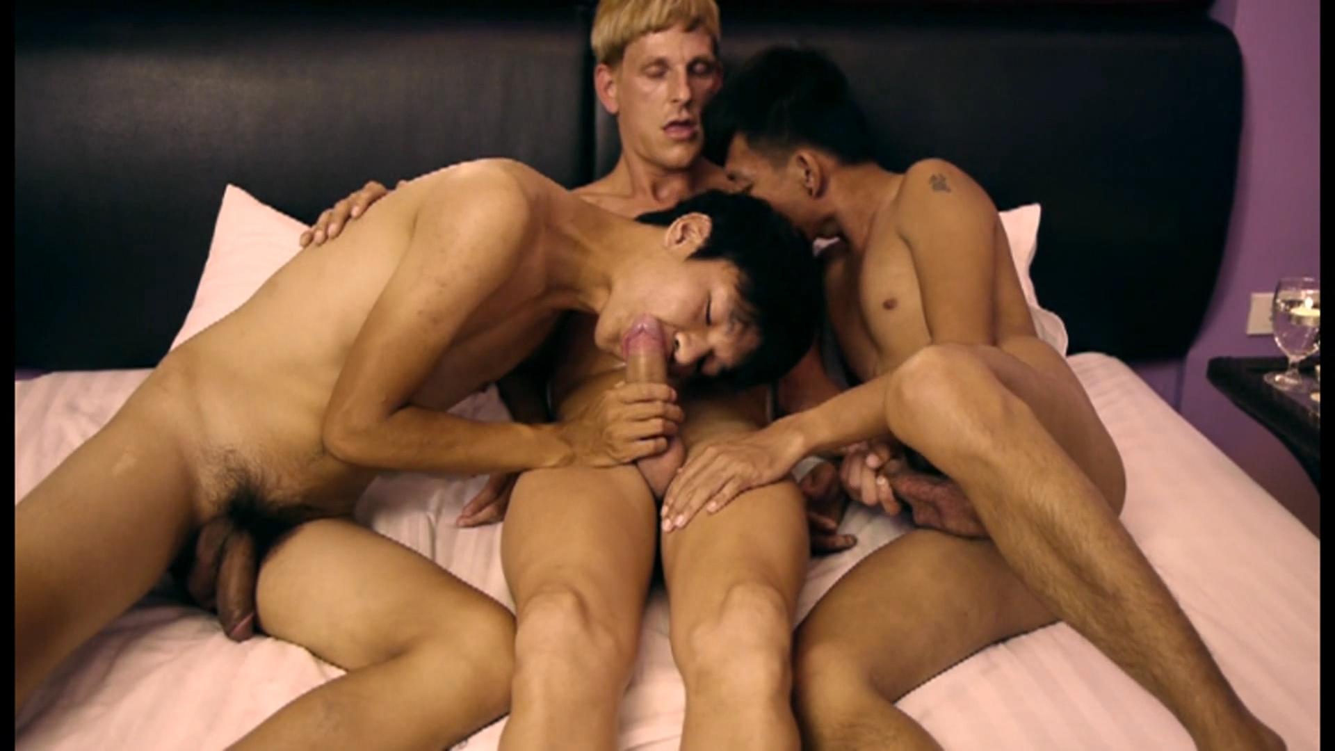 Thomas, Dominic and Jason - DoctorTwink Teen slut nude group selfies