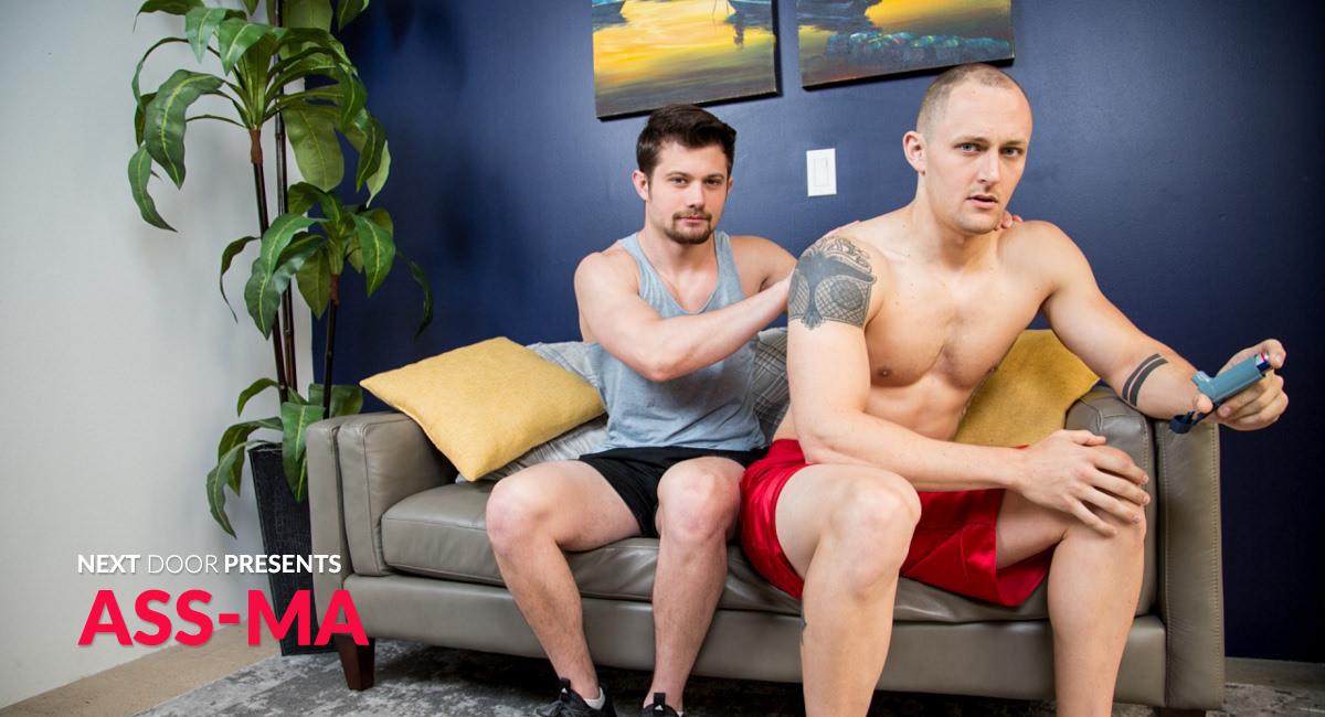 Trevor Laster & Mason Williams in Ass-ma - NextdoorStudios nude pics of nicole richie