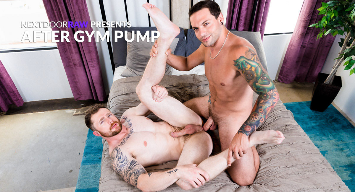Markie More & Eddie Danger in After Gym Pump - NextdoorStudios Teresa palmer fack naked pics