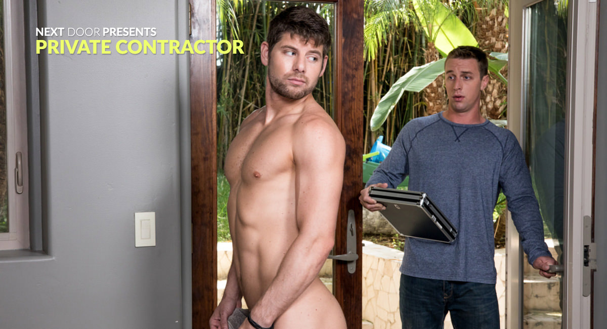 Connor Halsted & Ricky Ridges in Private Contractor - NextdoorStudios Family nudist resort pics