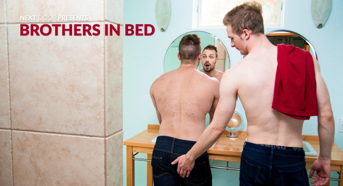 Blake Hunter & Ty Derrick in Brothers in Bed - NextdoorStudios Pornstar quebec