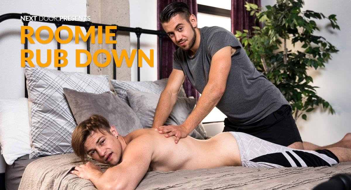 Charlie Pattinson & Dante Colle in Roomie Rub Down - NextdoorStudios Analy sex event in Kondoz