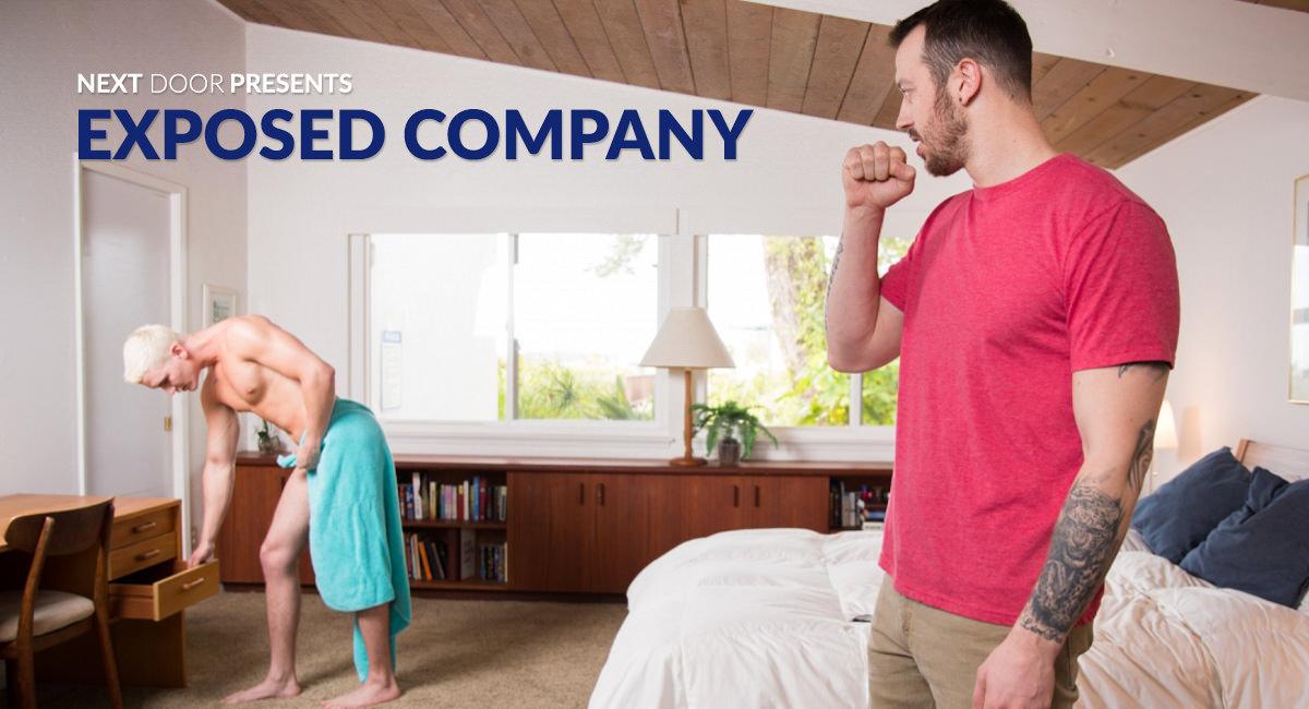 Mark Long & Jay Dymel in Exposed Company - NextdoorStudios super sexy pussies free movie