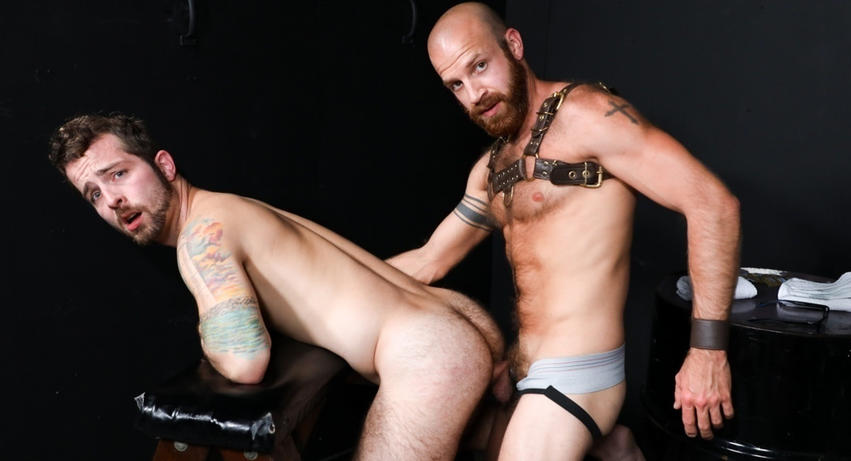 Jay Donahue & James Stevens in Bare Playroom - PrideStudios Busty natural brunette