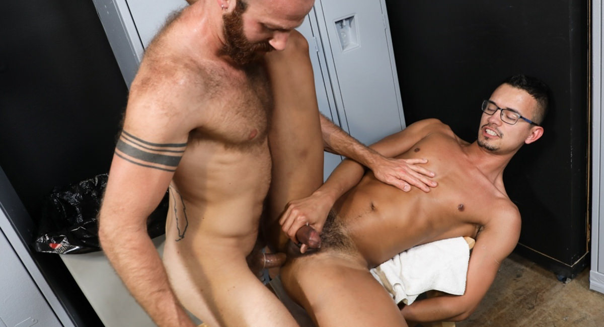 James Stevens & Mike Lobo in Oops I Thought I was Alone - PrideStudios gogles girls porn movie