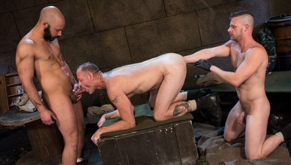 Brian Bonds & Dylan Strokes & D Arclyte in Arm-ageddon - ClubInfernoDungeon gay porn straight boys free