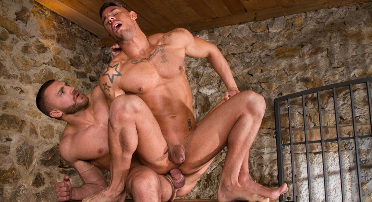 Emir Boscatto & Sergyo Caruso in Hung Country, Scene #04 - HotHouse she males fucking females