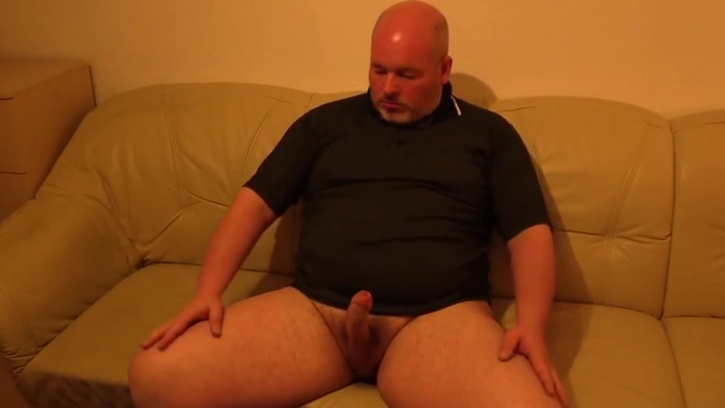daddy gay bear plays with his cock and cums Older women having hot sex