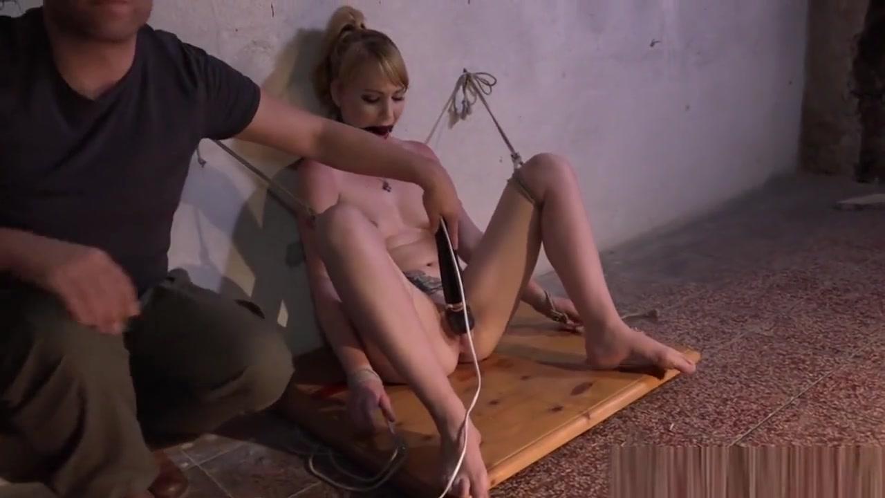 Blonde Restrained Bdsm Sub Pussy Toyed By Dom naked women tumbri