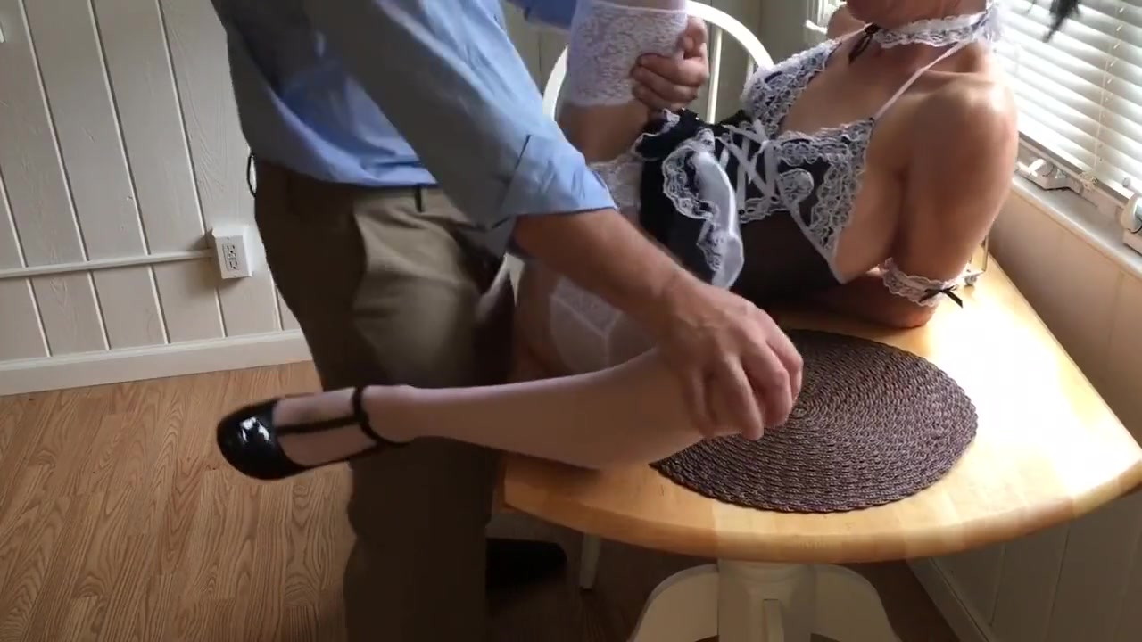 Real Life Housekeeper Dresses As French Maid To Tease Me