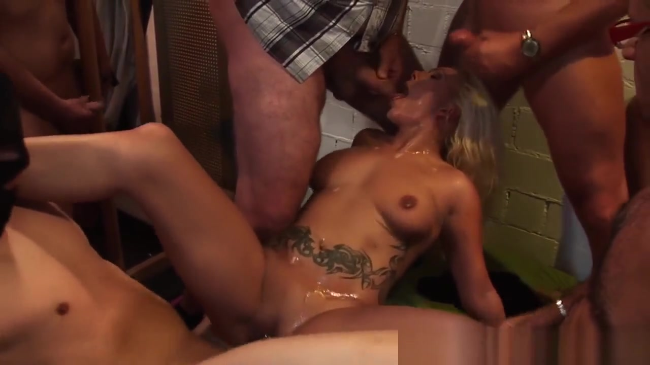 Gangbanged Skank Sprayed Deep throat free videos photos