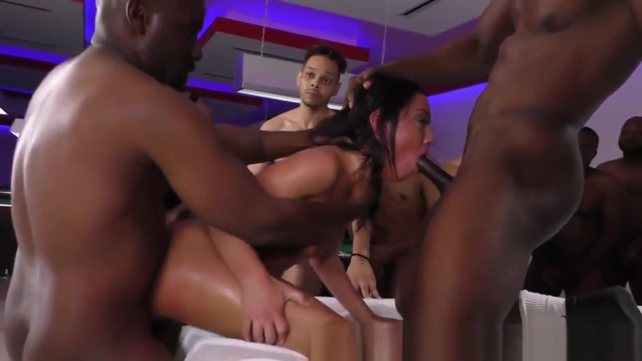 Teen Gags On Black Cocks