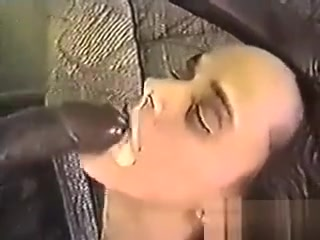 Classic Interracial Facial With A White Wife