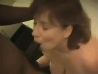 Partial Fat Milf Assumes Two Cocks That Are Black