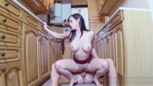 Eurobabe Banged In The Kitchen In Exchange For Some Cash gorgeous big boobs cam girl cougar loves fucking