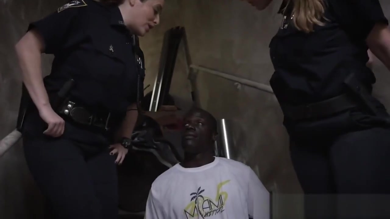 Video arrested black guy eats ticket, young soft ass