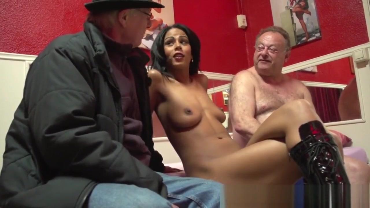 Hot Hooker Fucks Old Man