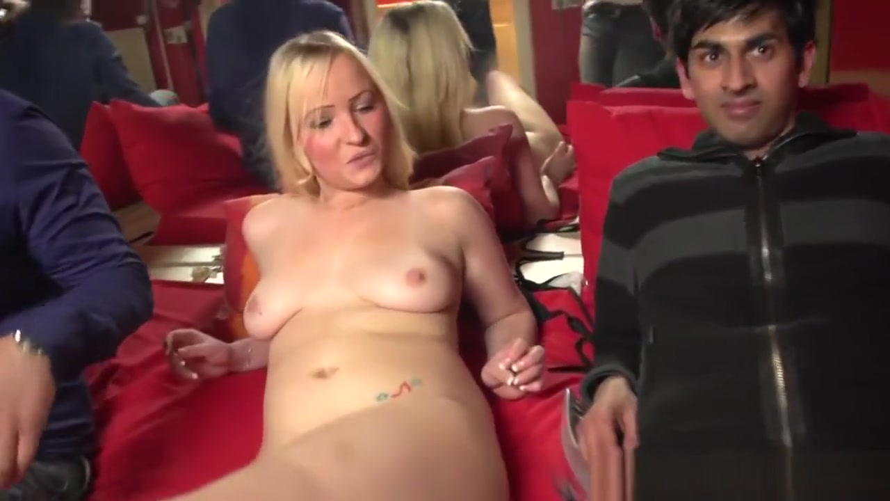 Pretty Dutch Hooker Creamed By Lucky Tourist Short blonde stripper with big tits