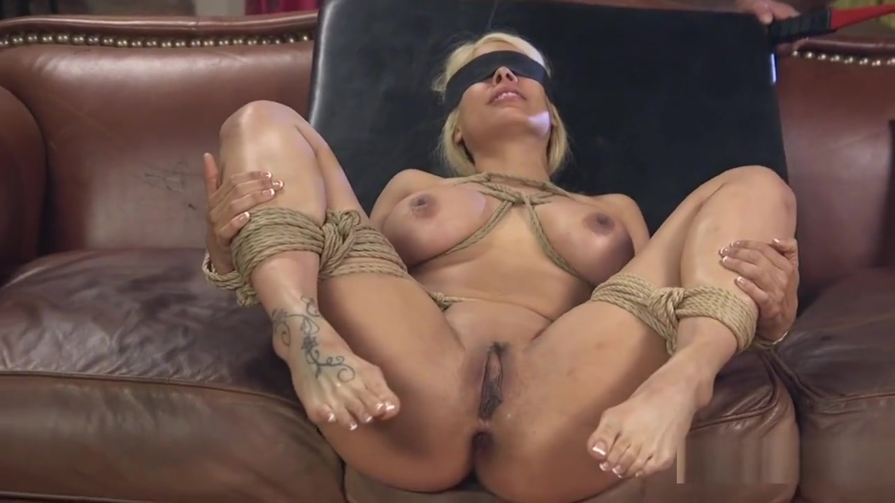 Tied Up And Blindfolded Blonde Banged Married for same also bbw in Wels