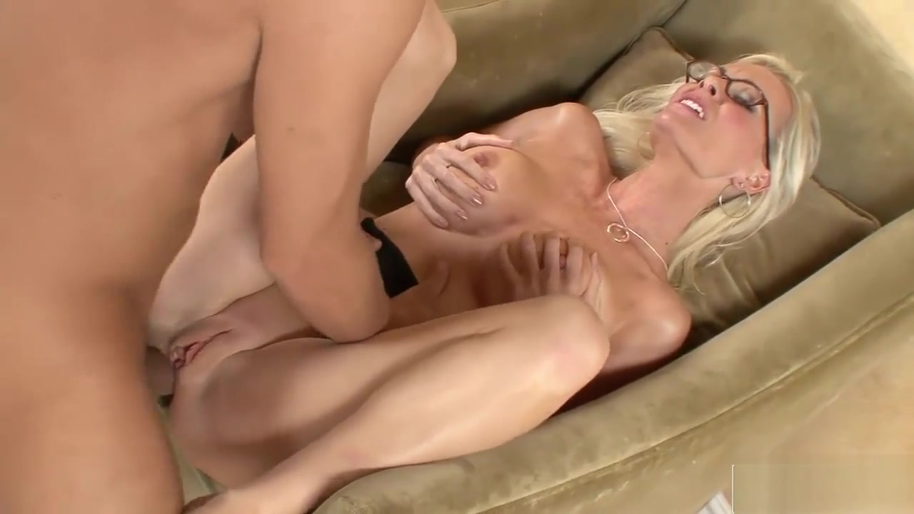 Hot Blonde Enjoys His Asian Pecker