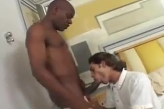 Black Daddy enjoying a white college girl healing exercises for the penis