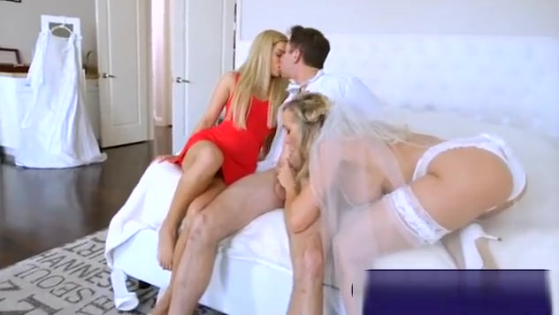 Brandi Love And Bella Rose Enjoyed A Horny Threesome Session Garden Boy Fuck His Boss