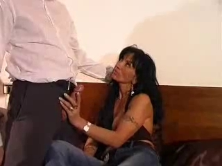Busty Latin mature gets some action Hot masseuse lesbian sex on the table