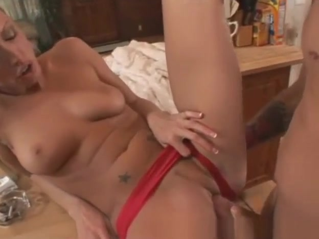 Cassie Young fucking in HOT red satin panties Lesbian socks worship