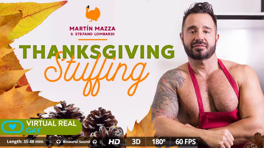 Thanksgiving Stuffing - Virtualrealgay twin sister sex porn