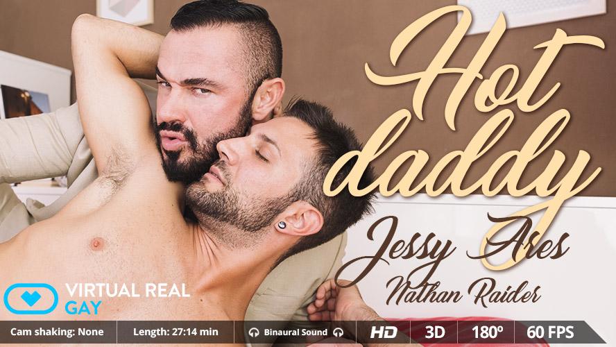 Hot Daddy - Virtualrealgay acting gay but not gay